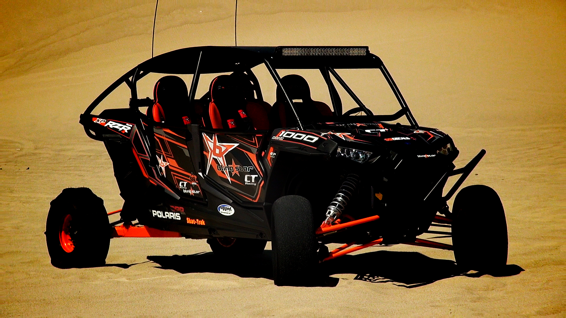 blingstar s polaris rzr xp 4 1000 dune runner project test with video. Black Bedroom Furniture Sets. Home Design Ideas