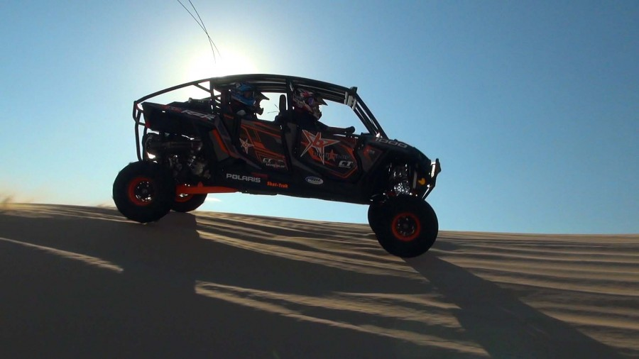 blingstar_rzr_xp_1000_combo_package_test_action_right_berm_sun