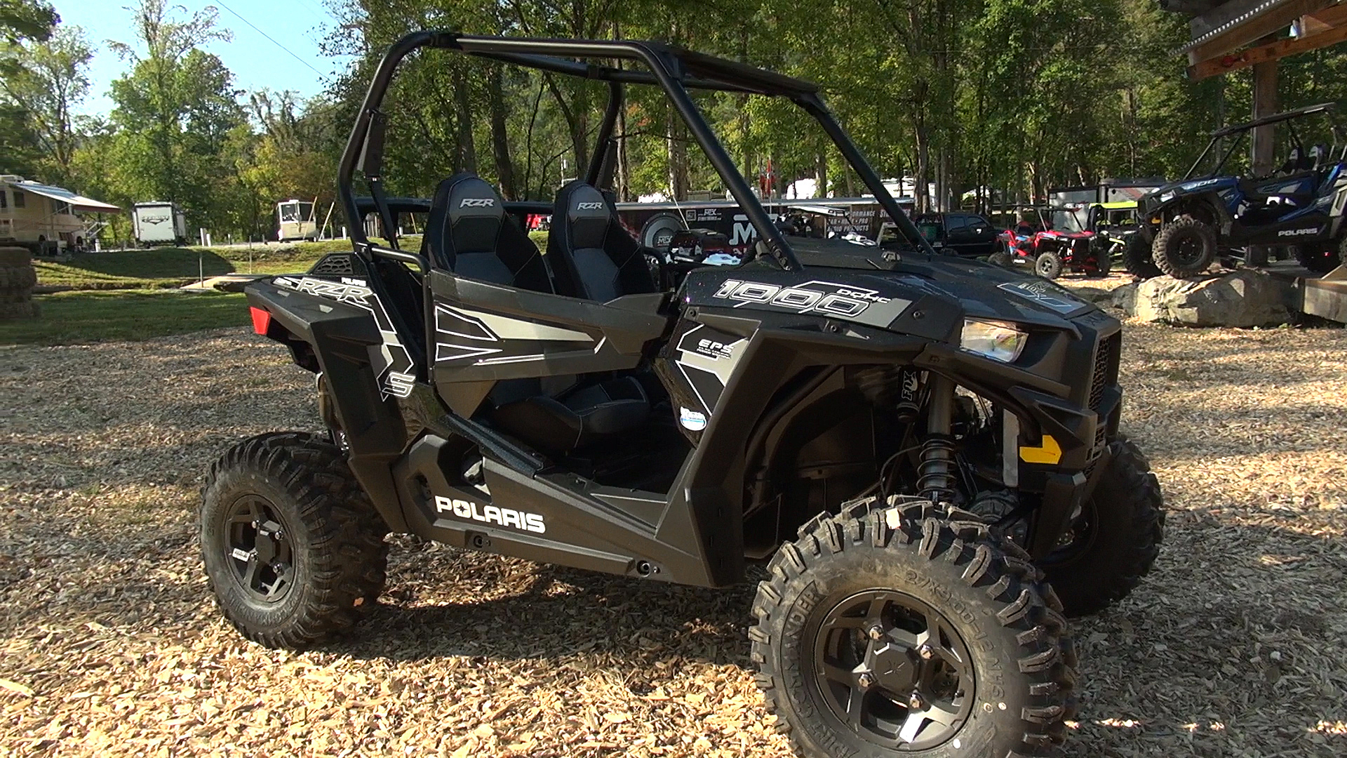 2016 Polaris Rzr S 1000 First Test Right Front