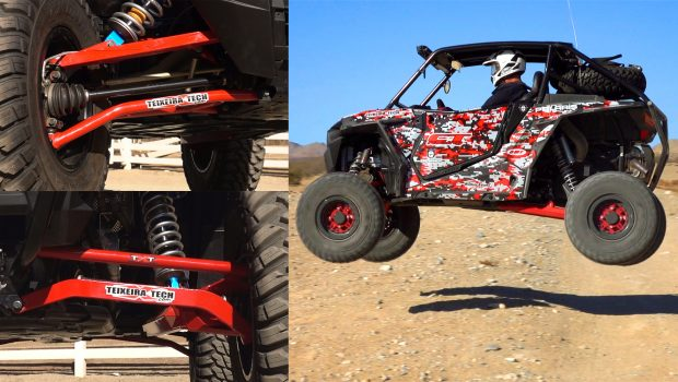 RZR XP 1000 / Turbo Chromoly High Clearance A-Arms and Radius Rods