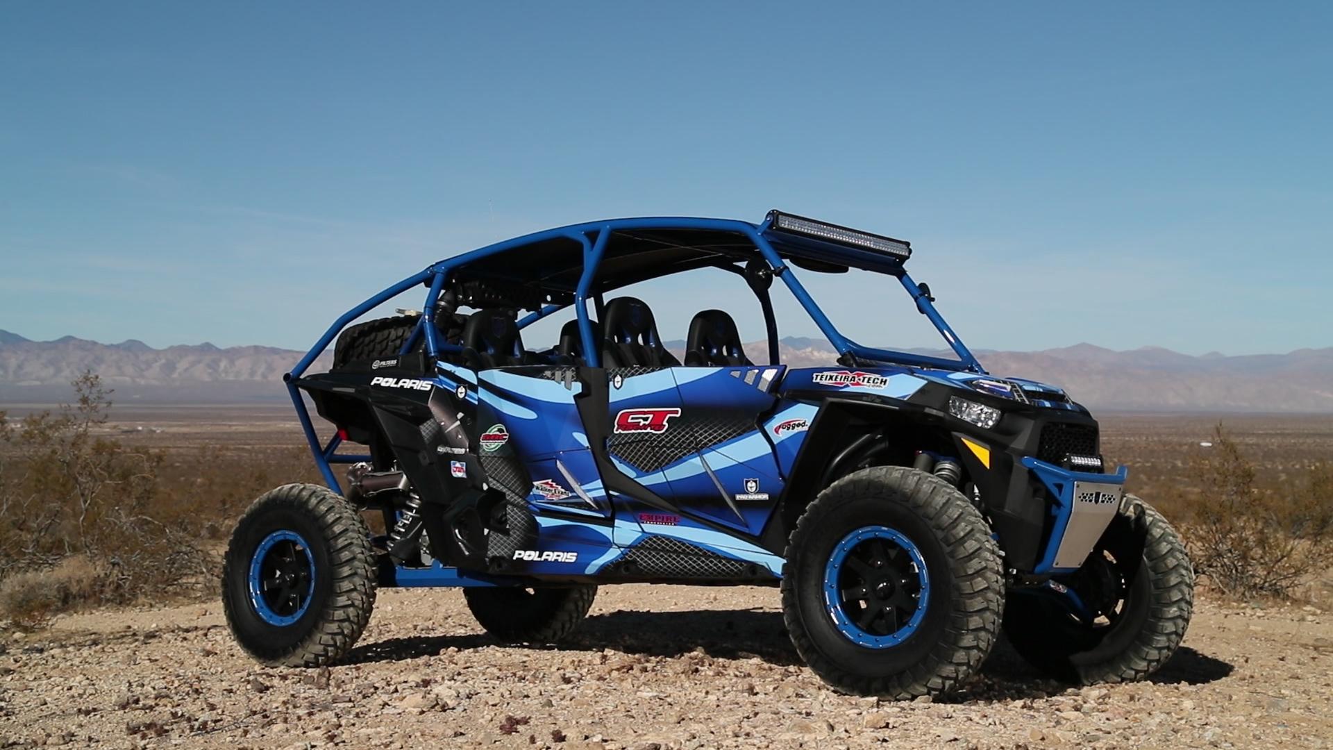 """Pro Armor Harness Pair 4 Point 2/"""" Blue Automotive Latch Polaris Ranger RZR XP S"""